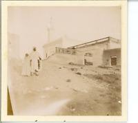 Algérie, Laghouat, La Mosquée Vintage print. Tirage citrate  7x8  Circa 19