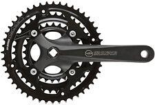 SR Suntour CW-NEX-208 28/38/48T Chainset: 175mm Black