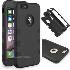 iPhone 6 Case,3-piece 3 in 1 Combo Hybrid Defender High Impact Body Armor Hybrid