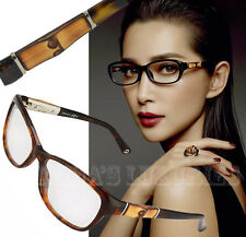 GUCCI EYEGLASSES GG 3673 WR9 130 BIO-BASED ACETATE BAMBOO EYEWEAR BROWN HAVANA