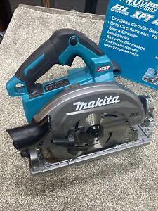 Makita HS004G 40v Max XGT Cordless Brushless Circular Saw 190mm No Batteries