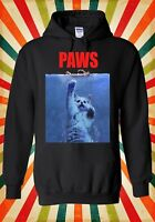 Paws Cat Kitten Meow Parody Hipster Men Women Unisex Top Hoodie Sweatshirt 466