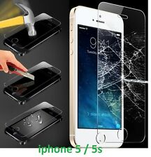 Explosion Proof Temperd Glass Screen Protector Film Guard For Apple iPhone 5 5S,