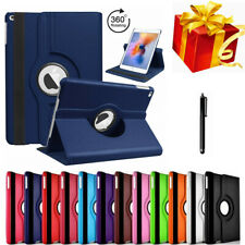 For iPad Air 1 2 Shockproof Case Cover 360 PU Rotating Leather Folio Stand