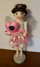 New ListingValentine's Day Ballerina Nutcracker Pink Shabby Chic Sugar Plum Fairy Heart New