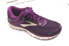 Brooks size 8.5B Adrenaline GTS 18 purple womens running tennis athletic shoes