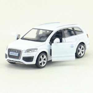 1:36 Scale Audi Q7 SUV Model Car Metal Diecast Toy Vehicle Kids White Pull Back