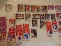 1991 Score NHL Hockey Card Lot x 73 Parkhurst Brett Hull,Messier,Mario Lemieux