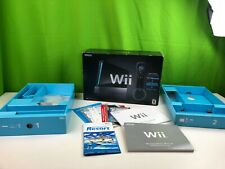 Nintendo Wii System Console Black Box & Inserts Only Original