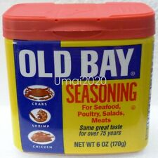 Old Bay Seasoning Marinade Rub Seafood Poultry Salads Meat Pasta Wings Fries 6oz