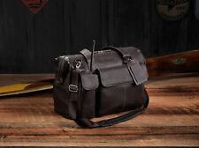 Lightspeed Adventure Flight Bag Collection - The Gann: Leather Pilot Flight Bag