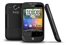 HTC WILDFIRE - Black (Unlocked) Smartphone - Fully Working - Grade A