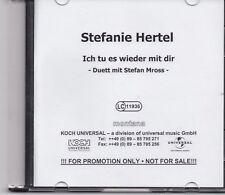Stefanie Hertel-Ich Tu Es Wieder Mit Dir Promo cd single