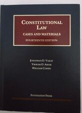 CONSTITUTIONAL LAW CASES AND MATERIALS FOURTEENTH EDITION VARAT, AMAR, COHEN B47