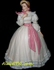 "MELANIE WILKES Figurine ~Gone With the Wind ~11"" Porcelain 1988 by Franklin Mint"