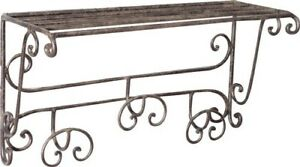Coat Hangers Clothes Hook A 3 Places Wrought Cast Iron