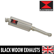 XJR1300 XJR 1300 2007-2016 Exhaust Link Pipe Oval Stainless Silencer Kit 300SS
