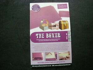 Crafters Companion THE BOXER Instruction Booklet ULTIMATE PRO 4175 Clearout