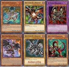 Yugioh Red-Eyes Black Dragon Deck - Retro, B. Skull, Odd-Eyes, Summoned Skull