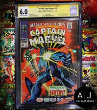 Marvel Super-Heroes #13 CGC 6.0 STAN LEE + ROY THOMAS SIGNED (Marvel)