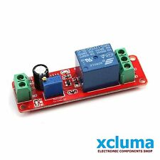 XCLUMA NE555 DC 12V DIGITAL DELAY TIMER MODULE ADJUSTABLE 0 TO 10 SECONDS BE0058