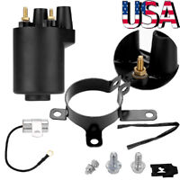 REPLACES ONAN 166-0772 IGNITION COIL KIT FIT POINTS MODELS BF B43 B48 NHC CCK US