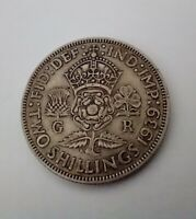 1939 GEORGE VI SILVER FLORIN (TWO SHILLINGS) TRUSTED SELLER