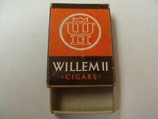 Ancienne boite allumettes vide - CIGARS WILLEM II