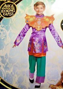 Disney Alice Through the Looking Glass Halloween Costume Girls L 10-12