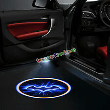 2x Wireless Car LED Door Benvenuti Logo del proiettore Batman Luce ombra