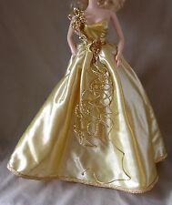 BARBIE PORCELAIN GOLD SENSATION ENSEMBLE Gown, Shoes, Jewelry, Hose