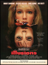 ILLUSIONS__Orig. 1991 Trade print AD promo / poster__HEATHER LOCKLEAR_EMMA SAMMS
