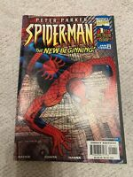 Peter Parker Spiderman The New Beginning 1st Spectacular Issue Comic Marvel 1/99
