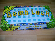 GAMES'N' THINGS VINTAGE 1983 DUMB LUCK THE LOTTERY BOARD GAME INCOMPLETE