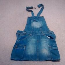 Overall Jeans Mini Jupe