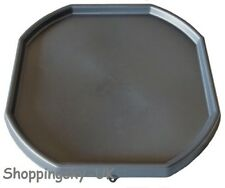 Large Plastic Builders Black MIXING TRAY Cement Sand Plastering Spot Top Choice