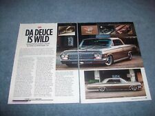 "1962 Chevy Impala Hardtop RestoMod 409 Article ""Da Duece is Wild"""