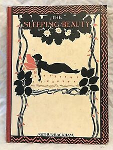 Arthur Rackham - Sleeping Beauty - 1st 1920 Heinemann, Illustrated, Lovely Copy