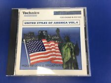 (#6) Technics Floppy Disc For KN Series Keyboard, United Styles Of America Vol 4
