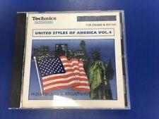(#6) TECHNICS floppy per serie KN TASTIERA, stili di United of America vol 4