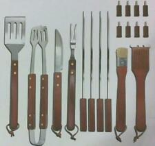 NEW Smoking Grill 19pc Grilling Set with Carry Case NV-00393 $60