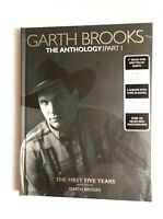 Garth Brooks - The Anthology Part 1 - Hardcover Book and 5 CD Set NEW / SEALED