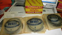 NOS Deves#1331-SP.040 H/D,H/P Piston Ring Set 1956-63 Consol MkII,62-65 Zephyr 4