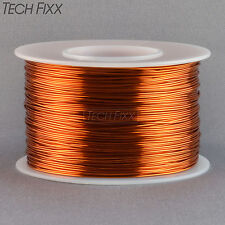Magnet Wire 24 Gauge AWG Enameled Copper 396 Feet Coil Winding and Crafts 200C
