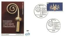 Germany 1987 FDC 1329 Biskup Willehad Episcopal Religia