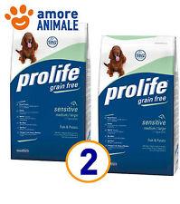 2 SACCHI - Prolife Adult Sensitive Medium large Pesce e Patate 12 Kg