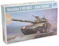 Russian T-90 A Mbt Cast Turret Tank 1:35 Plastic Model Kit TRUMPETER