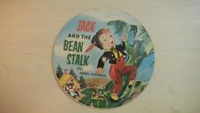 Toy Toon Cardboard Picture Record JACK & THE BEAN STALK/HANSEL &GRETEL 45rpm 50s