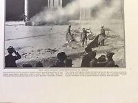m17c8 ephemera ww1 picture anti german demonstrations milan