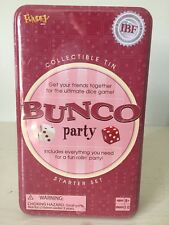 2004  Bunco Dice Game Party Fundex Collectible Tin. New Sealed